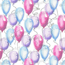 Load image into Gallery viewer, Air Balloons Pattern - Icing - ISA051-Icing/Frosting Paper-Sugar Art