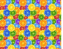 Load image into Gallery viewer, Rainbow Orange Background - Icing - ISA063-Icing/Frosting Paper-Sugar Art