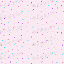 Load image into Gallery viewer, Pastel Colourful Sprinkles - Icing - ISA076-Icing/Frosting Paper-Sugar Art