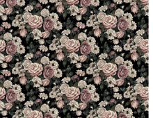 Load image into Gallery viewer, Elegant Blush Toned Rustic Flowers - Icing - ISA089-Icing/Frosting Paper-Sugar Art