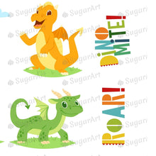 Load image into Gallery viewer, Dinomite Roar Collection Sugar Art
