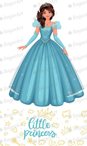 Princess Two Characters Sugar Art