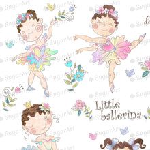 Load image into Gallery viewer, Little Ballerina Set Sugar Art