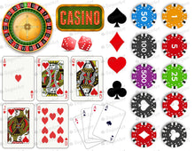 Load image into Gallery viewer, Casino Cards Poker Set - Icing - ISA111