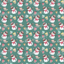 Load image into Gallery viewer, Snowman and Gifts pattern - SA29-Sugar Stamp sheets-Sugar Art