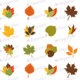 Leaves of Autumn Colors - SA45