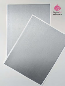 Silver - Edible Fabric - EF002-Edible Fabric-Sugar Art