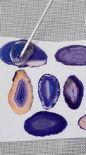 Load image into Gallery viewer, Giant Purple Agate Stones - ESA108