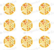Load image into Gallery viewer, Pizza Party - ESA097-Sugar Stamp sheets-Sugar Art