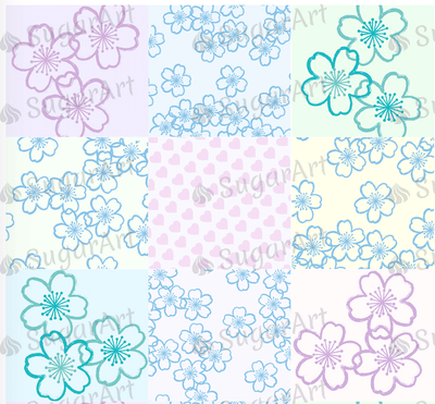 Floral Pastel Collection - BSA066