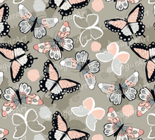 Load image into Gallery viewer, Colorful Butterflies - Icing - ISA004-Icing/Frosting Paper-Sugar Art