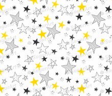 Load image into Gallery viewer, Hand Drawn Stars Background - Icing - ISA034-Icing/Frosting Paper-Sugar Art