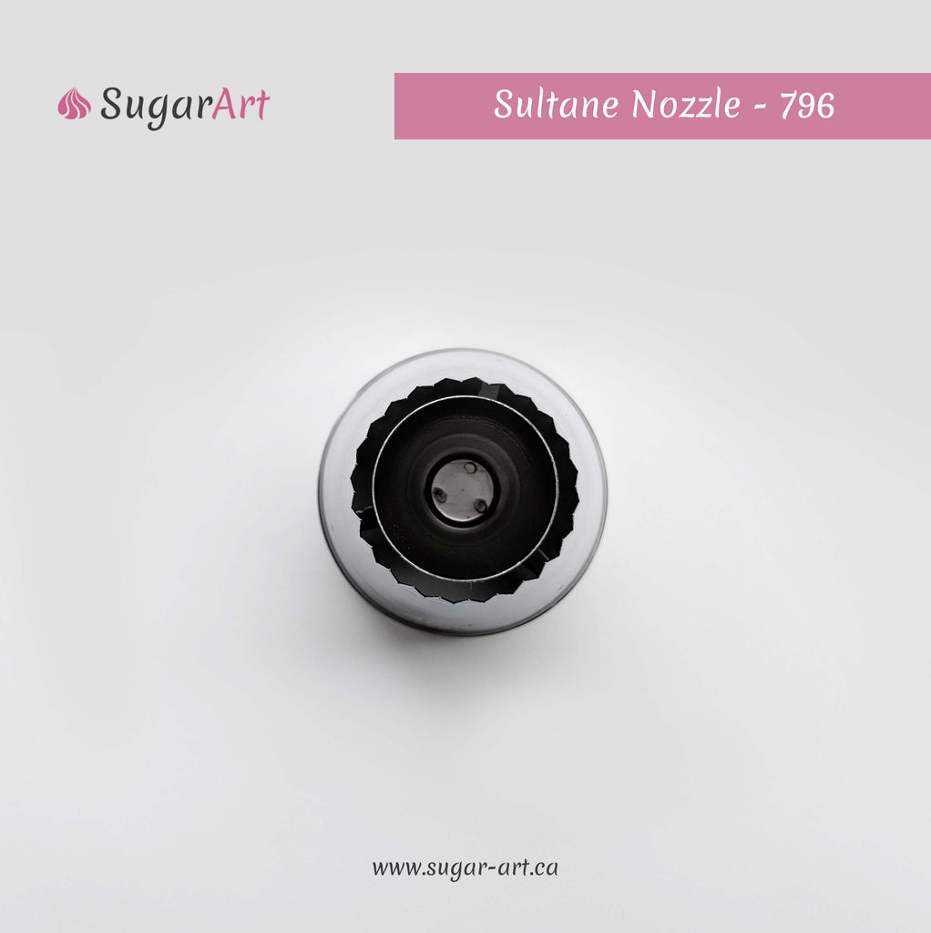 "Open ""Sultane"" Piping Nozzle 796"