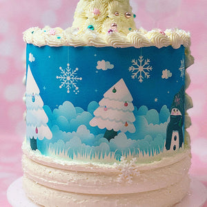 "Italian LIVE ""Winter Holiday"" Cake Decorating Class con Pamela di Pamela Cake Planner"
