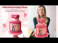 Load and play video in Gallery viewer, Cake Decorating Class - Valentine's Day - con Pamela di Pamela Cake Planner