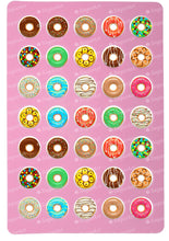 Load image into Gallery viewer, Donuts Set for charms - Round Stencil Mat - ESA114