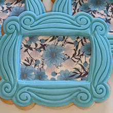 Load image into Gallery viewer, Light Blue Flowers Background - Icing - ISA062