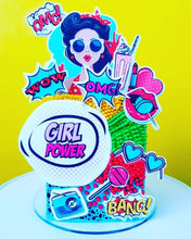 Load image into Gallery viewer, Girl Power Retro Pop Art - Icing - ISA104