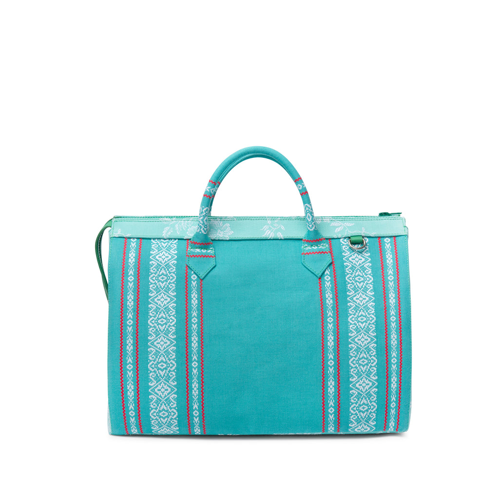 Bolso CRI LARGE VERDE PATCHWORK