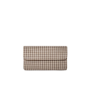 Limited Edition Clutch L Pta. de gallo beige
