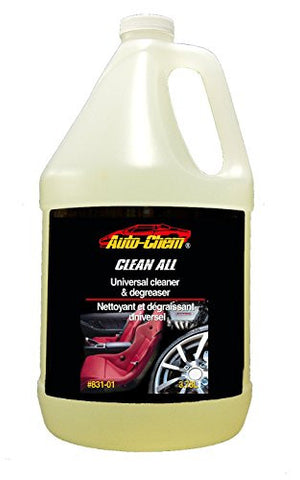Auto-Chem Professional- HD CLEAN ALL - Heavy Duty Universal Cleaner & Degreaser-Concentrated for Engines, Tires and Rims