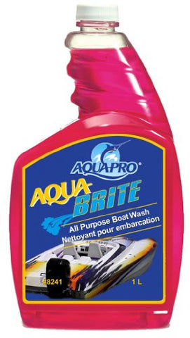 Aqua-Pro Professional (8241)- AQUA BRITE- All Purpose Concentrated Biodegradable Boat Wash 32 oz