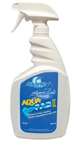 Aqua-Pro Professional (8120) - AQUA FAB II- Fabric Treatment- Fabric Waterproofing Spray 33.8 Ounces