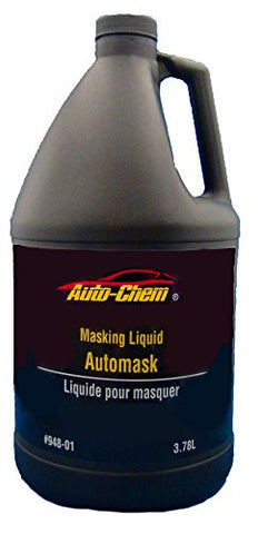 Auto-Chem LIQUID MASK Professional (948-01) Overspray Masking Liquid Film 1 gallon