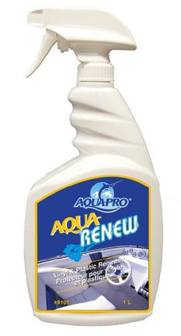 Aqua-Pro Professional (8101) - AQUA RENEW - Vinyl and Plastic Dress Up Renewer 33.8 oz