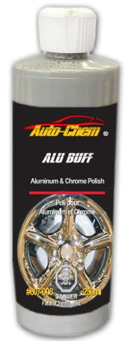 Auto-Chem Professional (607-008) - ALU BUFF -Aluminum, Chrome and Mag Wheel Polish and Protectant- 236ml