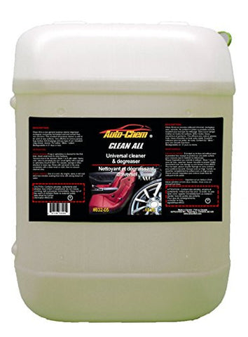 Auto-Chem Professional (832-05) - HD CLEAN ALL - Heavy Duty Universal Cleaner & Degreaser-Concentrated for Engines, Tires and Rims 5 Gallons