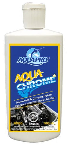 Aqua-Pro Professional (8060) -AQUA CHROME - Aluminum, Chrome and Stainless Steel Polish 473ml