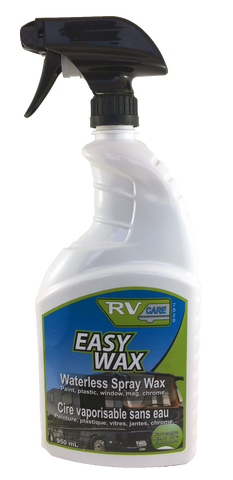 RV CARE Professional EASY WAX Spray Waterless Wash & Wax with Carnauba & NANO UV Protectant 7020 (32 ounce)