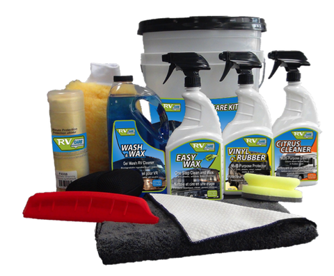 RV CARE Professional Complete RV Care, Maintenance and Detailing Kit 7700C 10 Piece