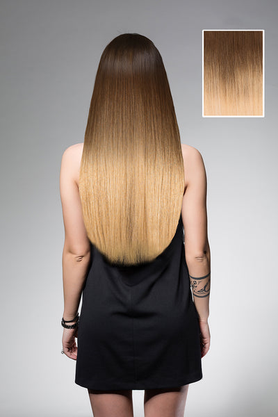 Caramel Deep Ombre #3SH28 - Full Head Set - 55cm