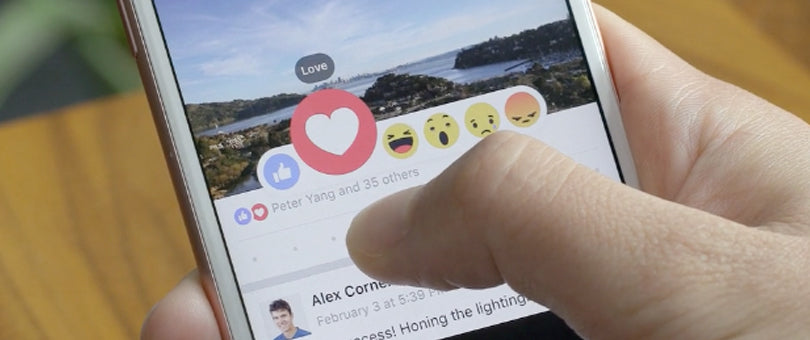 Facebook Introduces Reactions, the Better Like Button