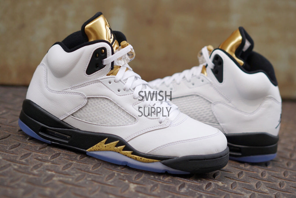 Air Jordan 5 Metallic Gold Coin