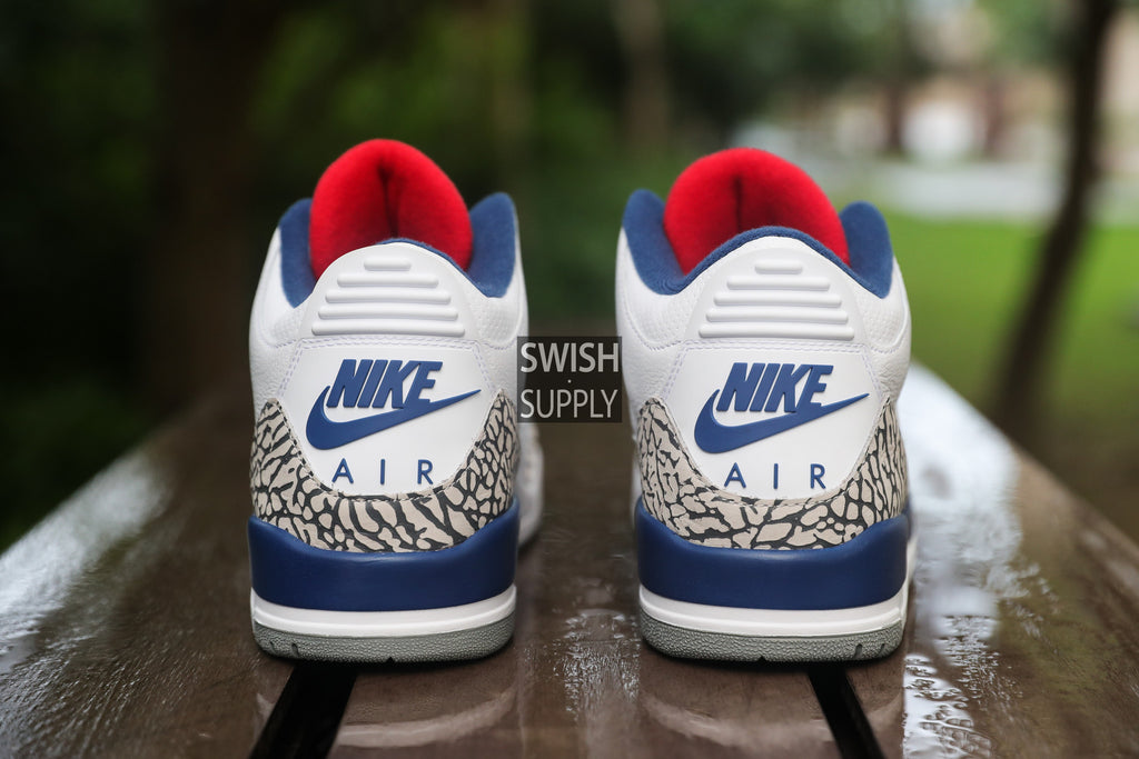"Air Jordan 3 True Blue OG Retro ""Nike Air"""