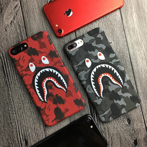 Shark Camo iPhone 6, 6+, 7, 7+ Case