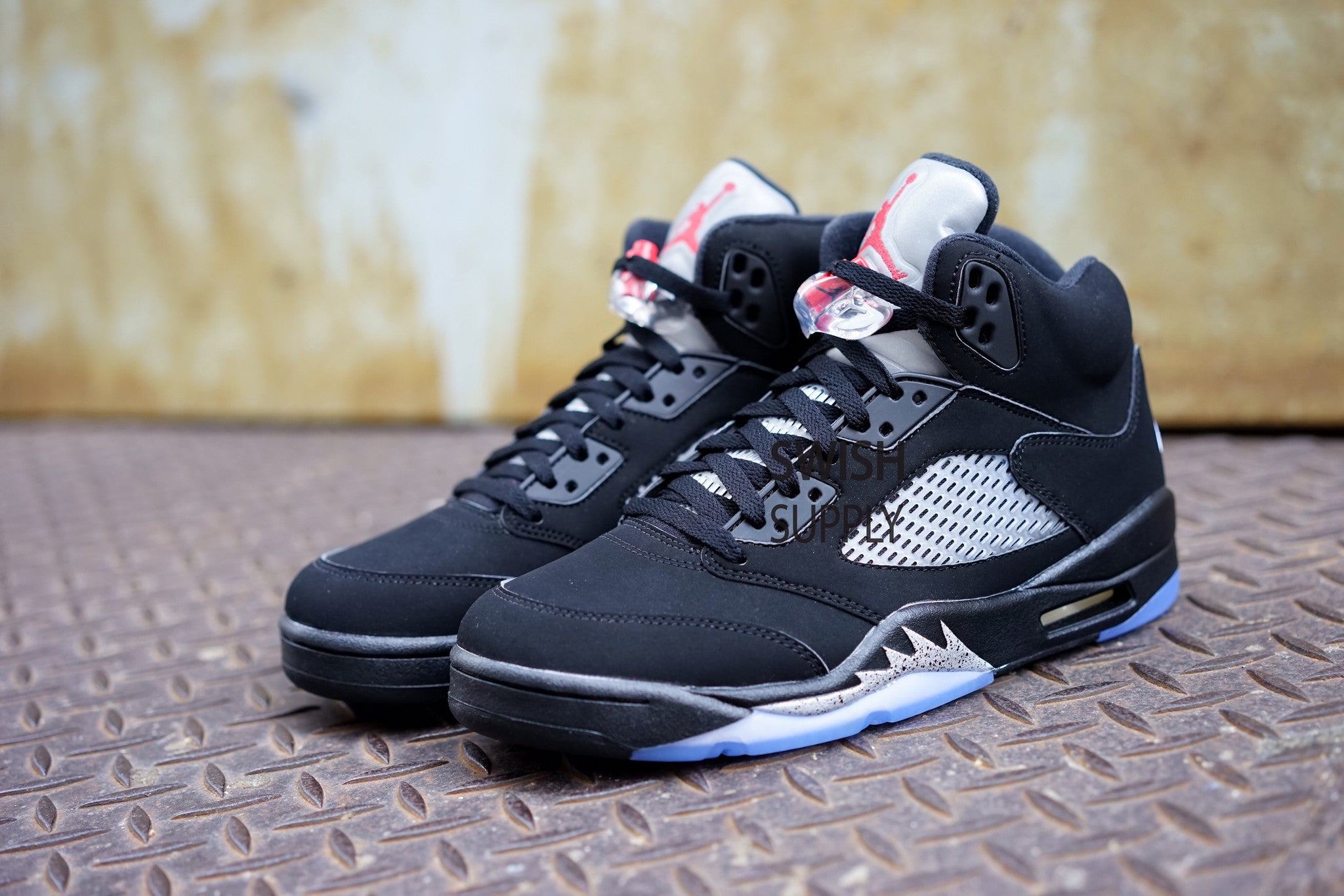 hot sale online 600ae 8f7c4 Air Jordan 5 Black Metallic Silver OG Retro