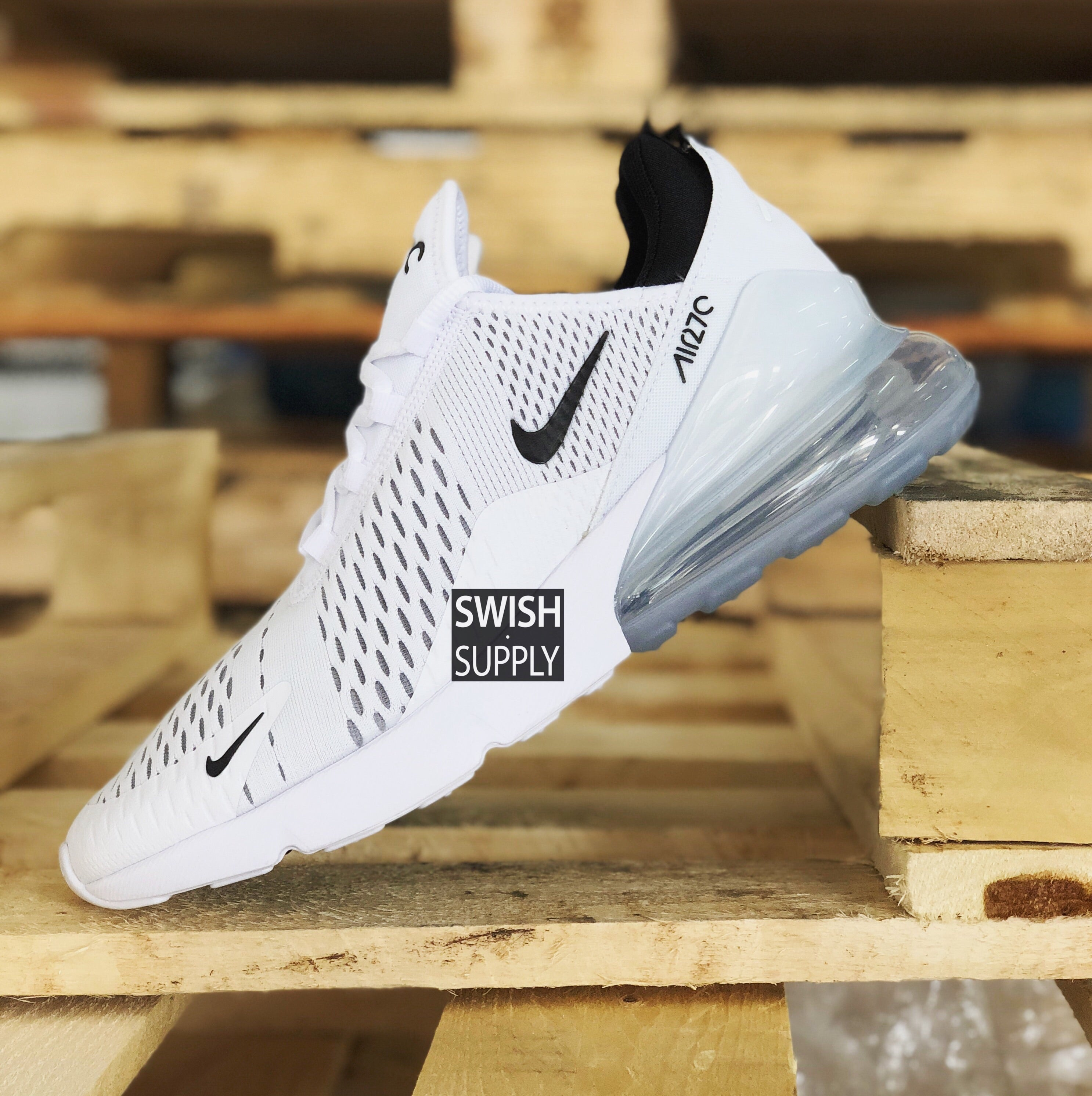 Nike Air Max 270 Triple White – SWISH.SUPPLY 0d9d8f0476