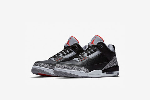 Air Jordan 3 Black Cements BG/GS