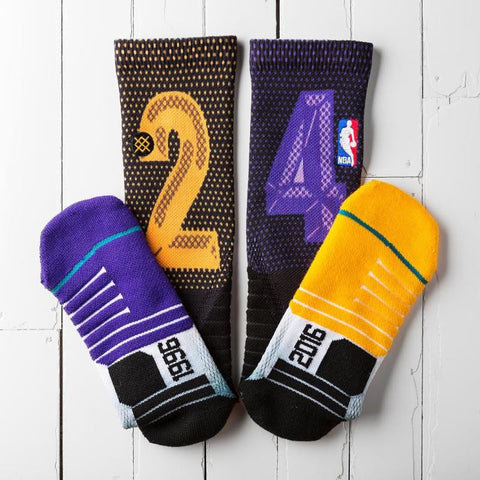 "Stance Kobe 24 game socks ""The Final"""