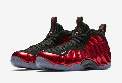 "Nike Foamposite One ""Metallic Red"" 2017"