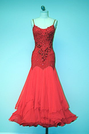 Standard / Smooth Ballroom Dresses For Rent – Tagged \