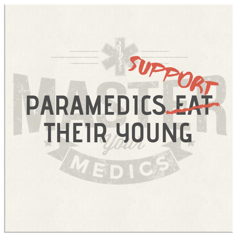 Paramedics Support Their Young