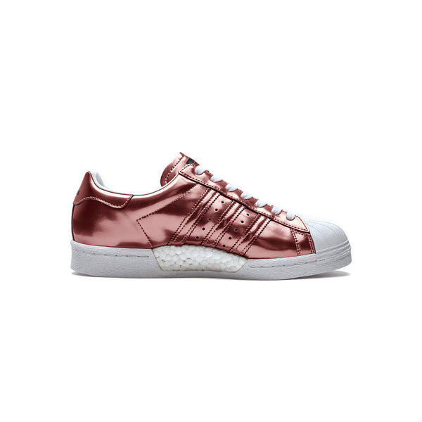 ADIDAS Superstar W Boost - Copper Metallic Bronze/Braun/Rot