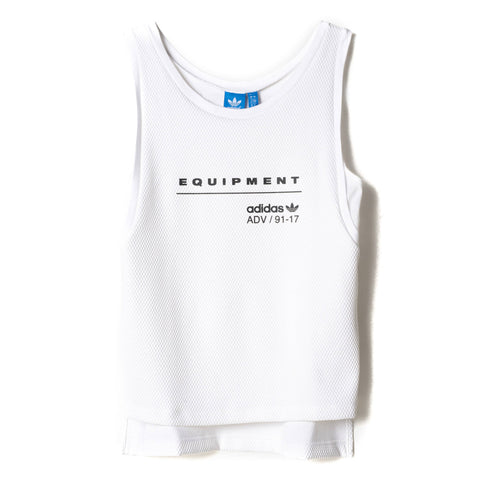 ADIDAS Originals EQT Equipment Mesh Tank Top White