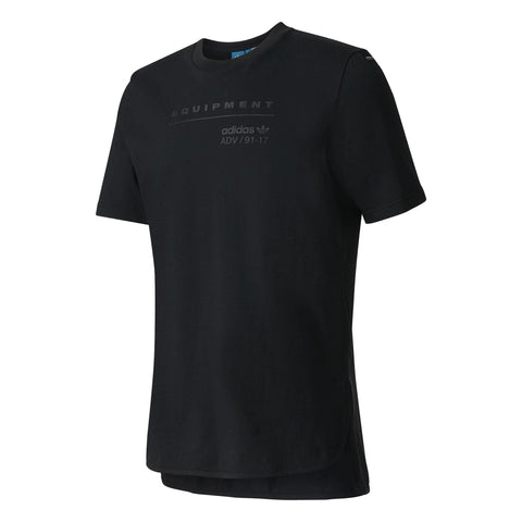 ADIDAS Originals EQT Equipment Logo Tee Black