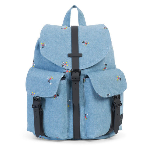 HERSCHEL Dawson Womens BackPack MIKEY MOUSE Denim/Black Poly - Sneakerhelden
